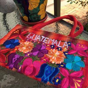 Handbags - Authentic Guatemalan Tote Bag